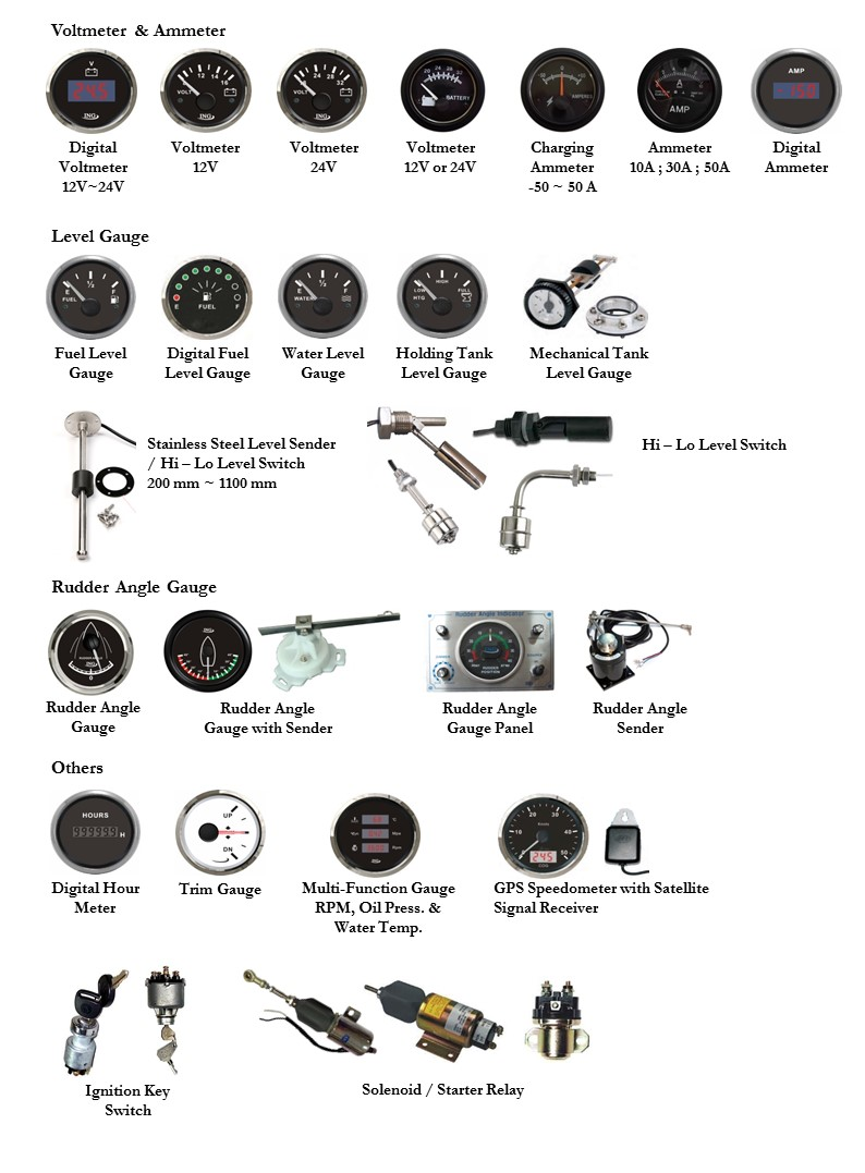 Engine Instruments, Gauges & Sensors4